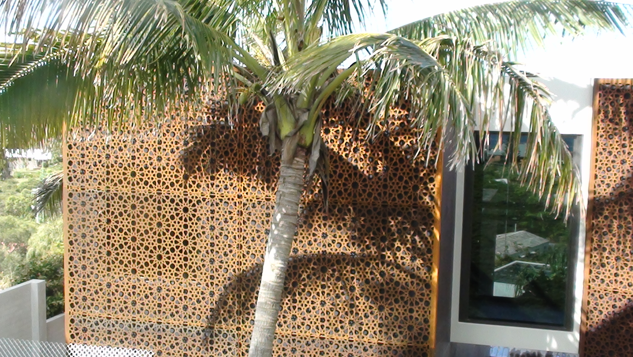 Corten Steel Garden Screens | Pusat Laser Cutting