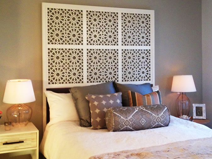 Headboard Bed Room